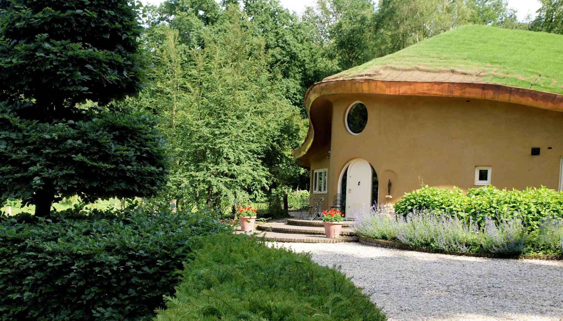 Tablinum Tijmes eco huis - organisch bouwen