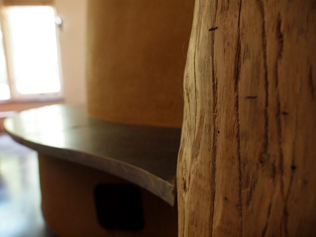 Tablium Tijmes - eco architectuur - interieur hout
