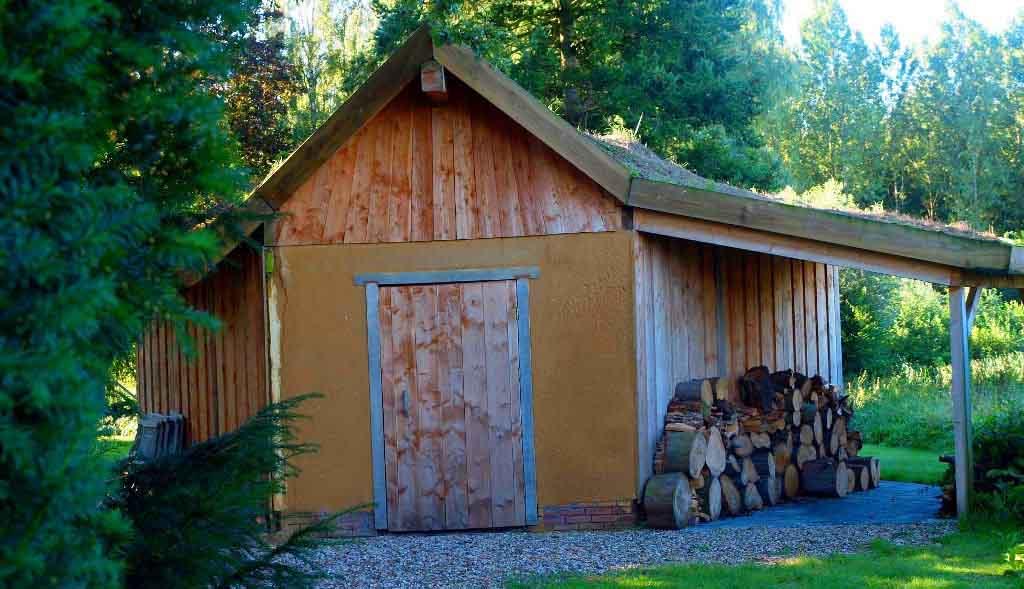 Tablinum Tijmes tuinarchitectuur eco tuinhuis schuur